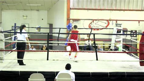 Eduardo Sánchez Boxeo Costa Rica, Pelea Semifinal ...