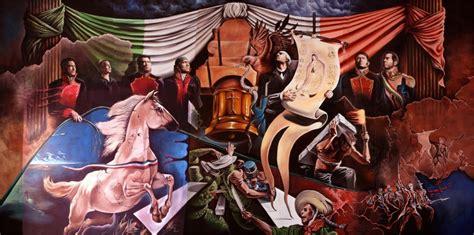 EDUARDO URBANO MERINO pintando mural de la independencia ...