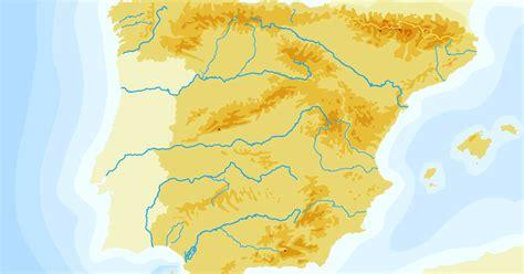 Educablog Primaria: Mapa físico mudo de España