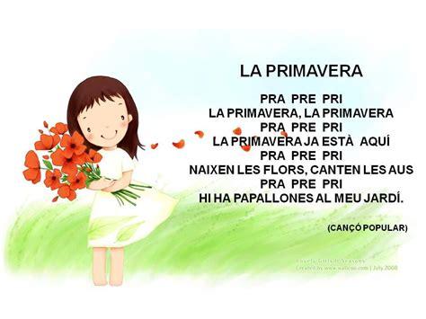 EDUCACIÓ INFANTIL   Poemas de primavera, Poesia de la ...