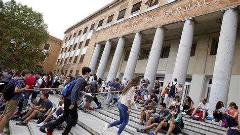 Educación: La Universidad Complutense plantea reducir de ...