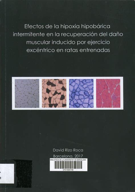 Efectos de la hipoxia hipobárica intermitente en la ...