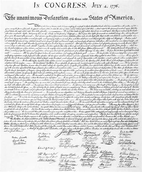 Efemérides: Declaración de independencia de los Estados ...