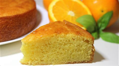 Eggless Orange Cake | No Egg   No Butter Moist Orange Cake ...