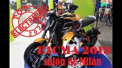 EICMA 2019. Novedades motos eléctricas 2020. ENERGICA ...