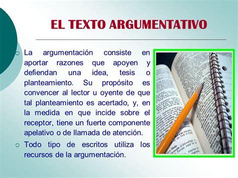 Ejemplo De Texto Argumentativo Corto Para Niños ...