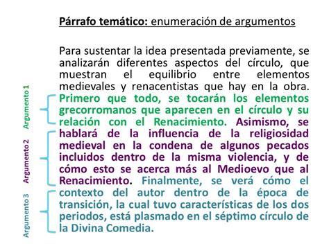 Ejemplo Redacción del texto argumentativo