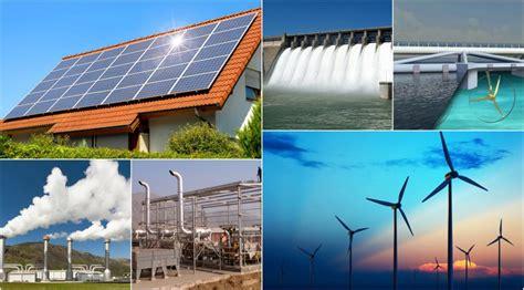 Ejemplos de Energías Renovables