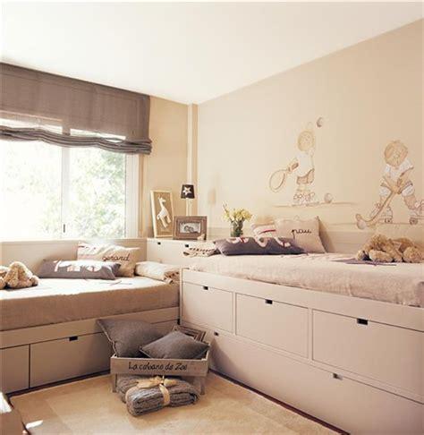 Ejemplos de habitaciones infantiles compartidas