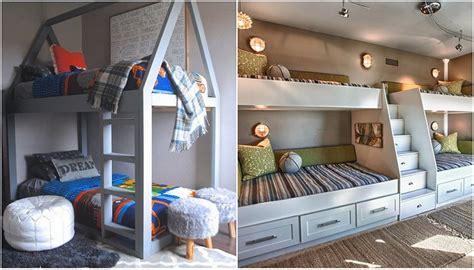 Ejemplos de literas para niños, que le ahorrará espacio en ...