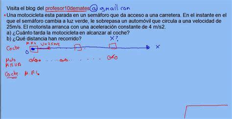 Ejercicio 08 MRUA problema resuelto   YouTube