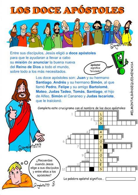 Ejercicio de Los doce apóstoles