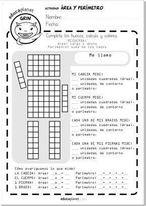 EJERCICIO MATEMÁTICAS ROBOT AREA PERIMETRO GRATIS | Área y ...