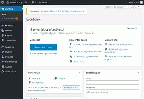 Ejercicios  1 . WordPress. Aplicaciones web. Bartolomé ...
