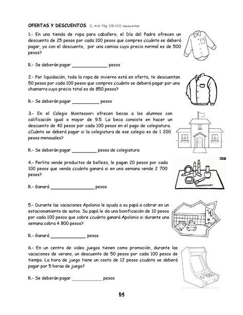 Ejercicios de matemáticas 5° | Matematica ejercicios ...