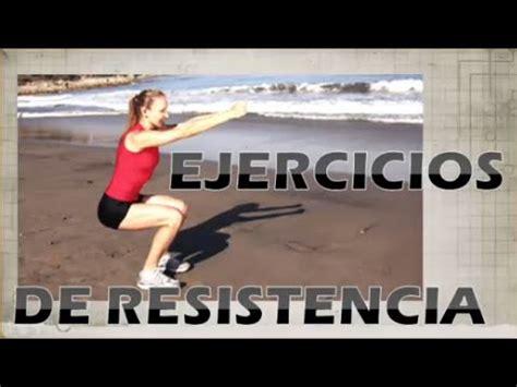 Ejercicios de resistencia física en casa   Dos efectivas ...