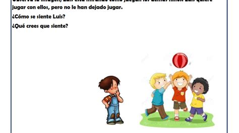 Ejercicios Empatía: Fichas infantil Solución de conflictos ...