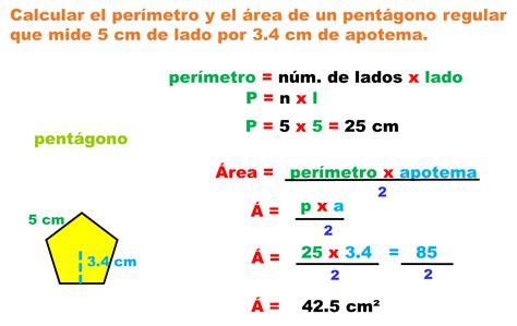 ejercicios resueltos de perímetro y área de polígonos ...