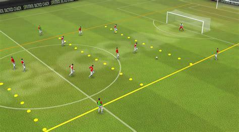 Ejercicios tácticos de fútbol   Entrenamiento futbol ...