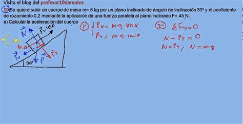 ejercicios y problemas resueltos de física dinámica 10 ...
