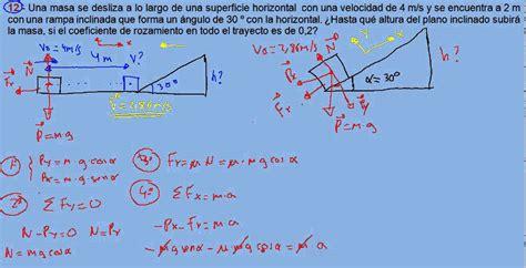 ejercicios y problemas resueltos de física dinámica 12 ...