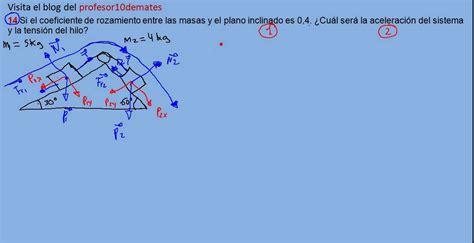 ejercicios y problemas resueltos de física dinámica 14 ...