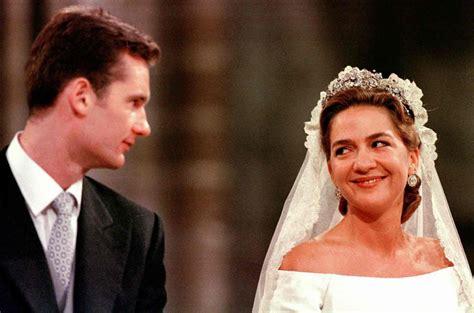 El 20 aniversario de la boda de la Infanta Cristina e ...