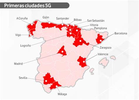 El 5G de Vodafone llega a Vitoria y otras 14 ciudades de ...