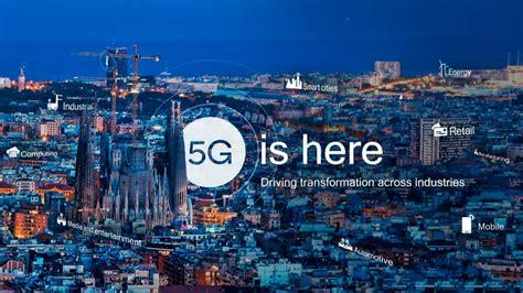 El 5G de Vodafone llegará a España este verano