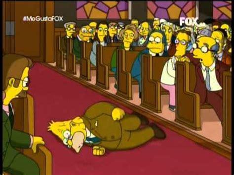 El Abuelo Simpson Profetizando   YouTube