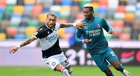 El AC Milan gana por 1 0 al Udinese en la primera ronda ...
