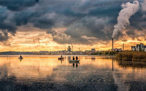 El agua, afectada por la contaminación del aire ...