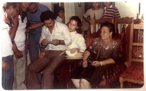 El álbum íntimo de la viuda de Pablo Escobar: desde su ...