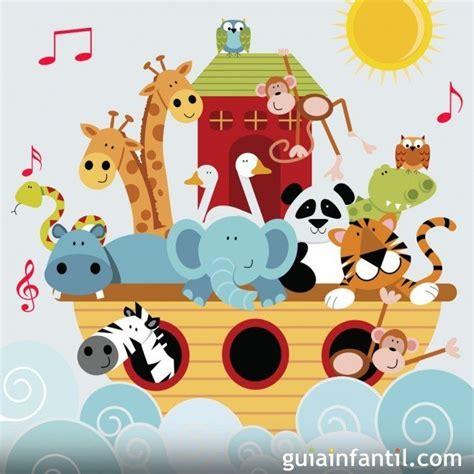 El arca de Noé. Canciones infantiles | Noahs ark nursery ...