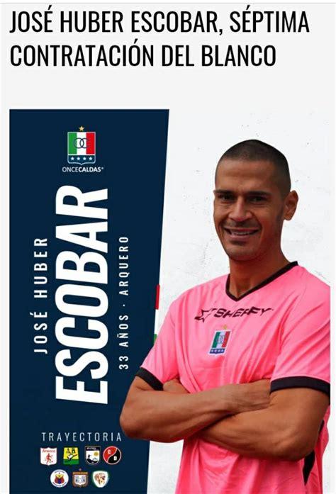 El arquero tolimense Jose Huber Escobar ahora se viste con ...
