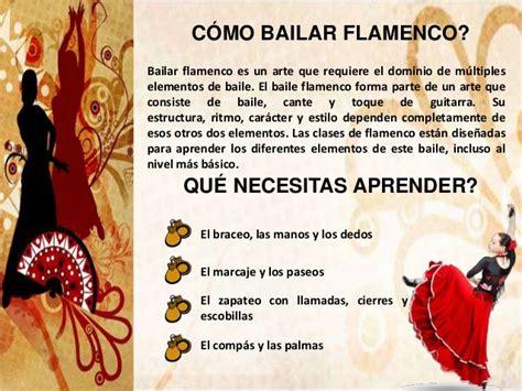 El arte de Bailar Flamenco