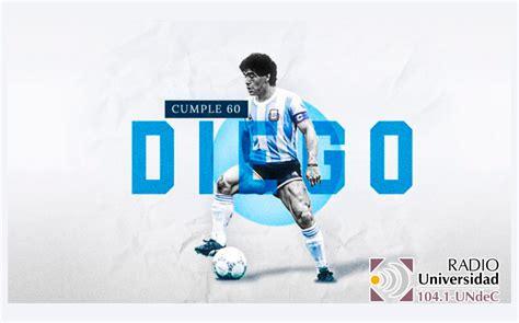 El astro del fútbol Diego Armando Maradona, cumple hoy 60 ...