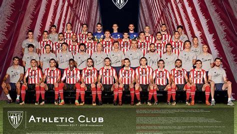 El Athletic presenta el póster para la temporada actual