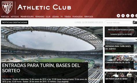 El Athletic presenta su nueva web oficial   VAVEL España