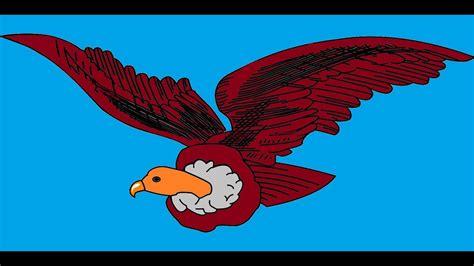 El ave buitre video y sonidos animados   The bird ...
