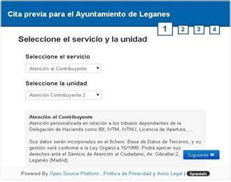 El Ayuntamiento de Leganés implanta la Cita Previa 'online ...