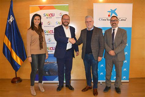 El Ayuntamiento de Salou recibe la colaboración de la Obra ...