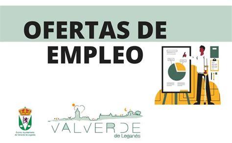 El Ayuntamiento lanza varias ofertas de empleo | Valverde ...