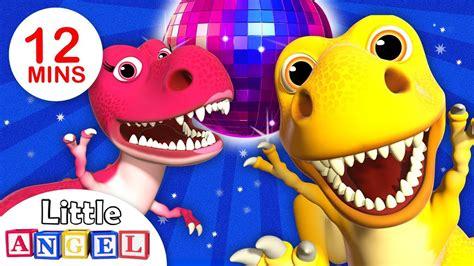 El baile del Dinosaurio con bebé T Rex | Canciones ...