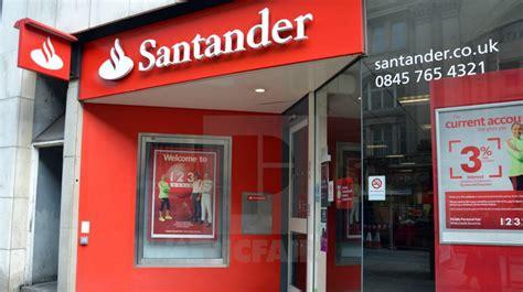 El Banco de Inglaterra llama a Santander y Sabadell para ...