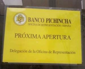 El Banco Pichincha abrirá sus oficinas en España en mayo ...