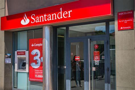 El Banco Santander cierra este viernes 200 oficinas