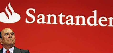 El Banco Santander se una a las previsiones negativas ...