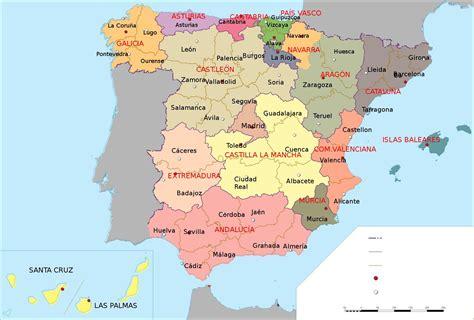el blog de fanchi: mapa de España