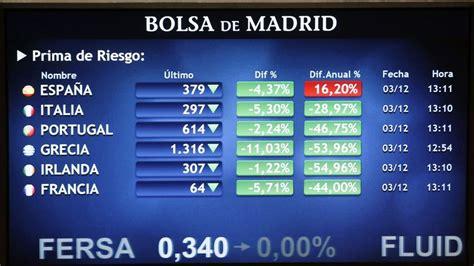 El bono español a diez años baja del 5 por ciento por ...